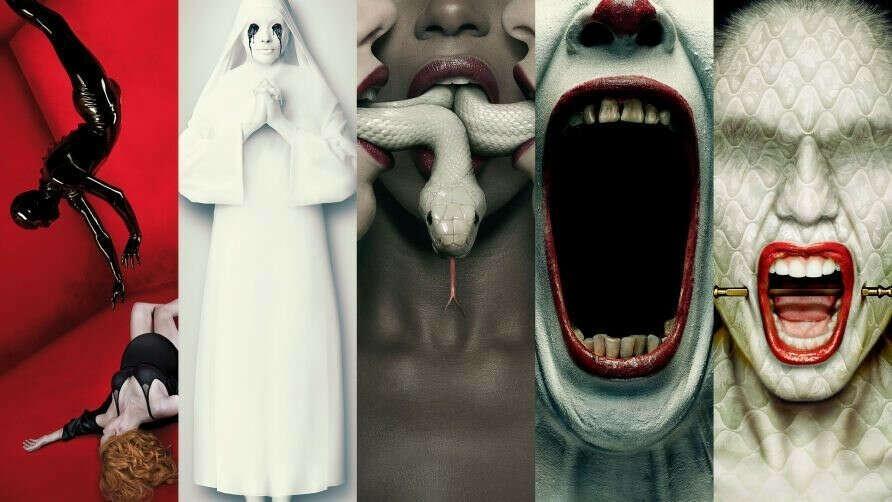 """Посмотреть все 8 сезонов """"Американской истории ужасов"""""""