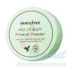 Рассыпчатая пудра Innisfree No-Sebum Mineral Powder