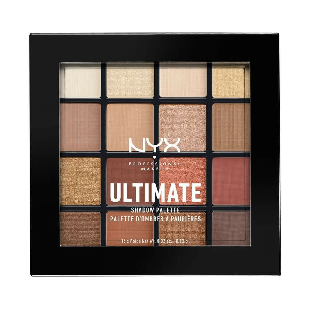 NYX ULTIMATE SHADOW PALETTE - WARM NEUTRALS 03