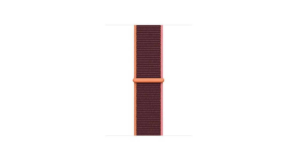 Спортивный браслет сливового цвета (длякорпуса 40мм)