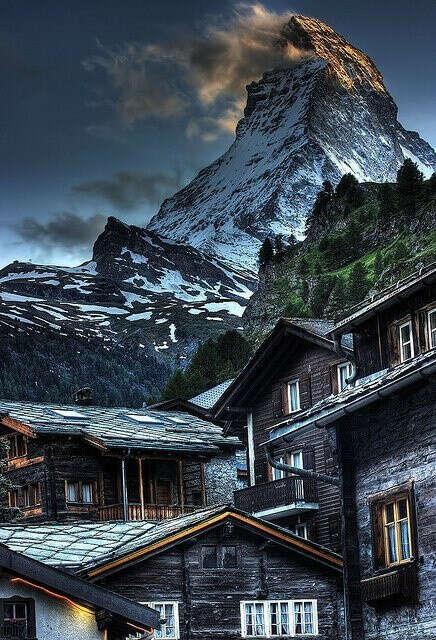 Жить в горах, рядом с лесом и морем