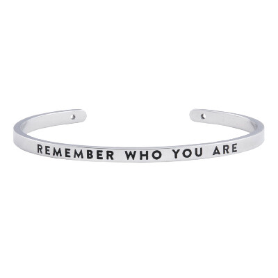 браслет REMEMBER WHO YOU ARE - BNGL