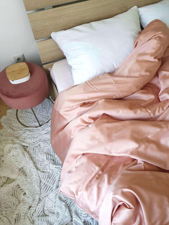 Пододеяльник из тенсела для утяжеленного одеяло SleepDeep цвет персиковый