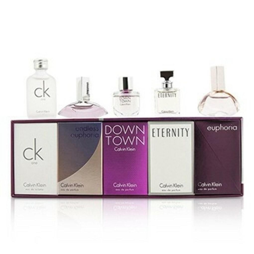 Набор Миниатюр: CK One + Downtown + Eternity + Euphoria + Endless Euphoria