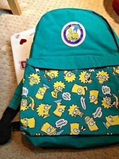 Такой рюкзак Simpson