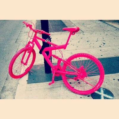 Научиться кататься на велосипеде...