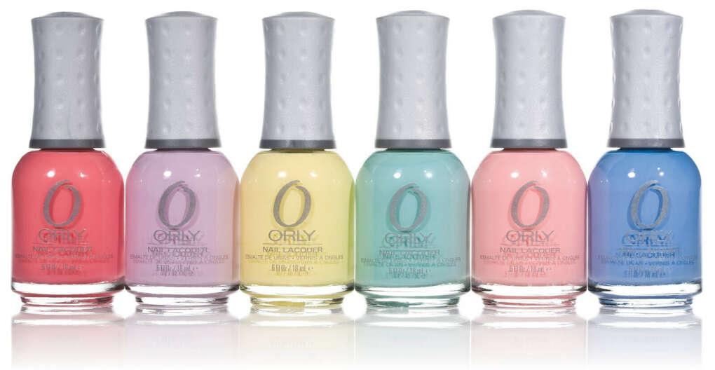 Лак ORLY пастельных цветов
