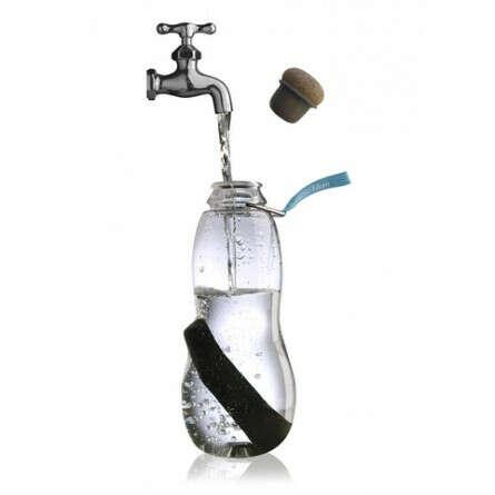 Эко бутылка для воды Eau good с фильтром-ионизатором голубая
