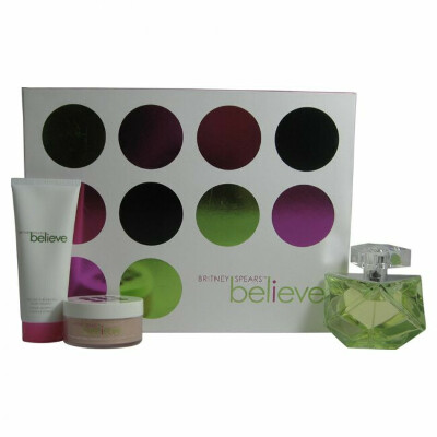 Believe Perfume by Britney Spears 3 Pc. Gift Set