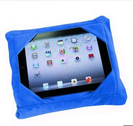 OUTLET Tablet Wizz Cojín multifuncional 3 en 1, adaptable a tablets y smartphones, perfecto para viajes, suave y cómoda, firme sujección
