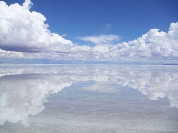 Побывать на зеркальном озере в Боливии