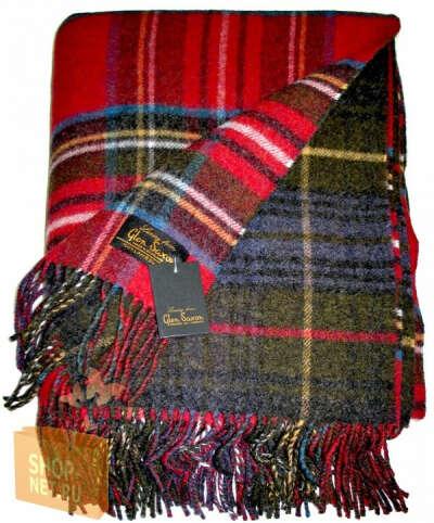 Шотландский плед Glen Saxon