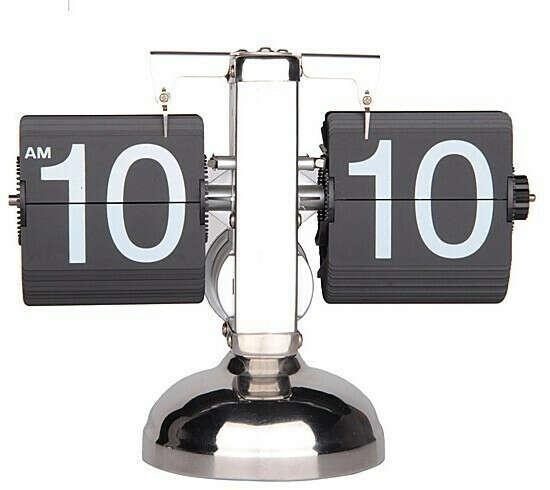 Настольные часы Retro Desk Wall 30104 с перекидным циферблатом