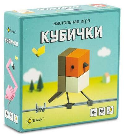 Настольная игра Эврикус Кубички