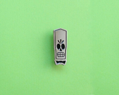 Grim Fandango Manny Calavera Enamel pin