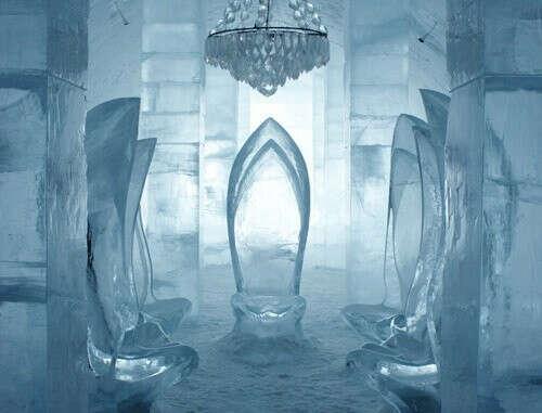 Переночевать в ледяном отеле, Юккасъярви