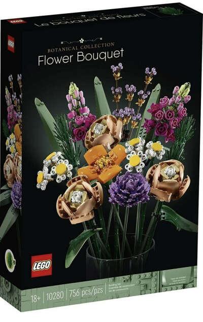 LEGO  букет цветов