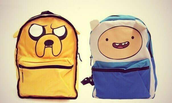 "Двойной рюкзак ""Adventure time"""