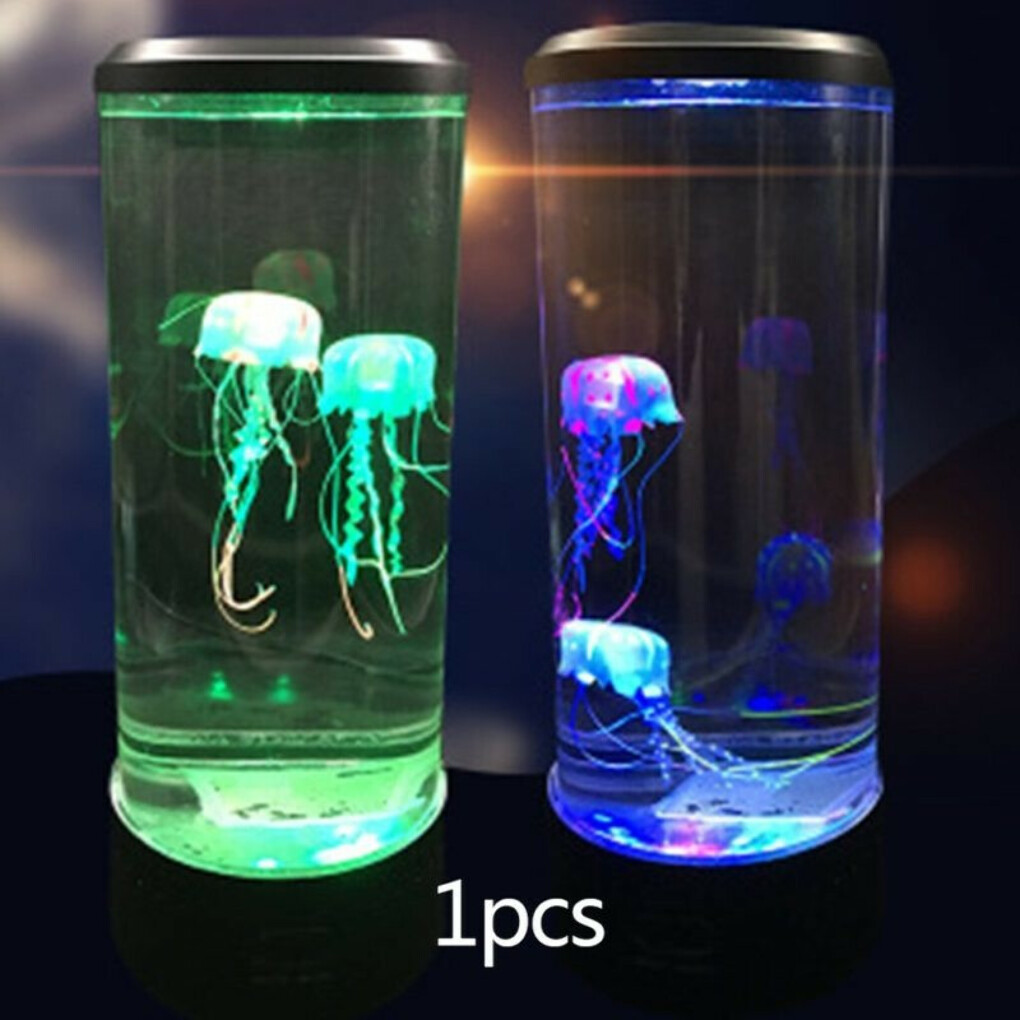 THE HYPNOTIC JELLYFISH AQUARIUM (Colorful Clear)