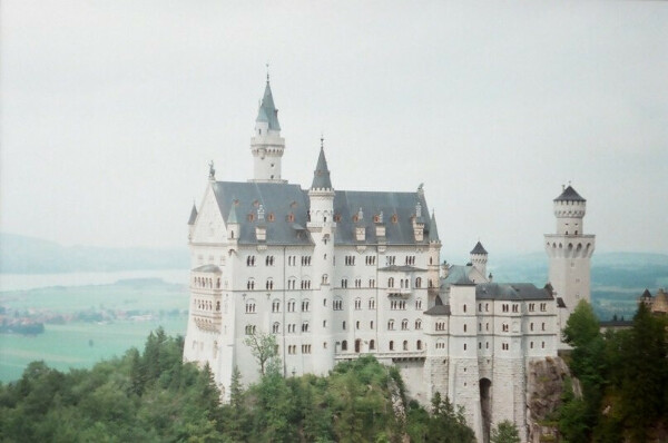 Германия, Мюнхен, замок Нойшванштайн