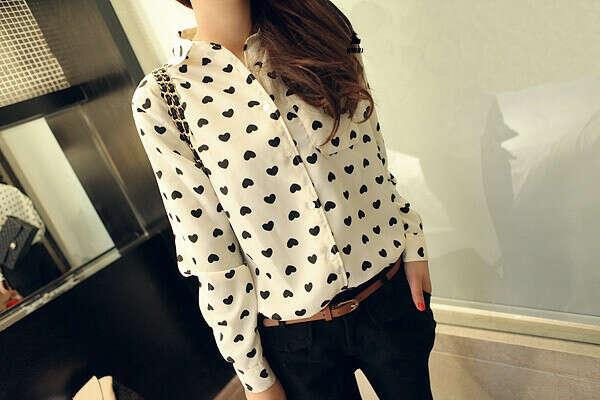 Рубашка в сердечко :3