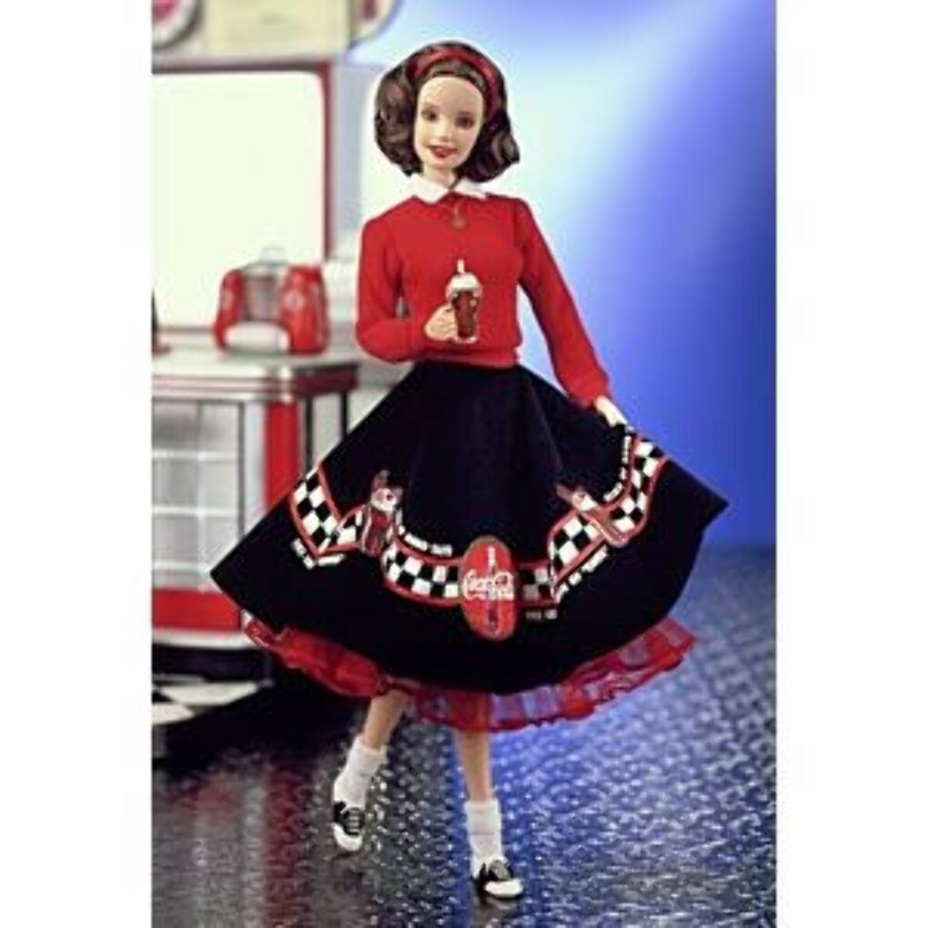 Coca-Cola Barbie Doll - Sweetheart | 24637 | Barbie Signature