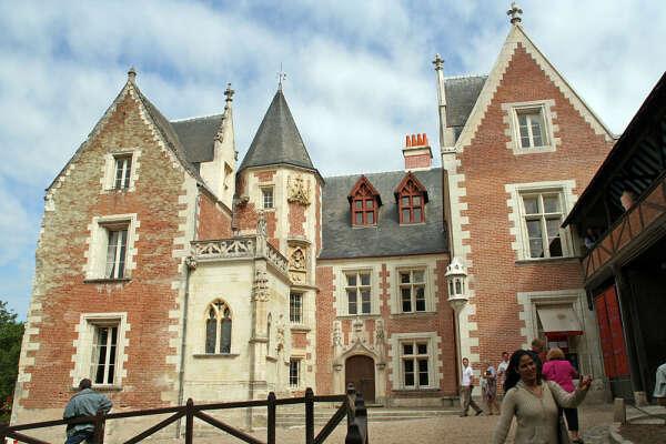 Кло-Люсе. Замки Луары, франция. Замок, где жил Леонардо да Винчи