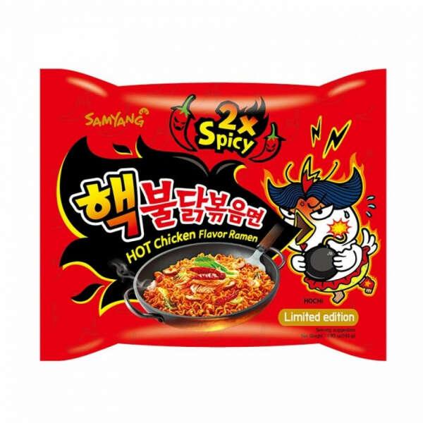 Samyang 2x spicy острая лапша