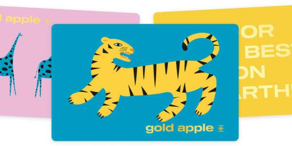 Сертификат в Золотое яблоко