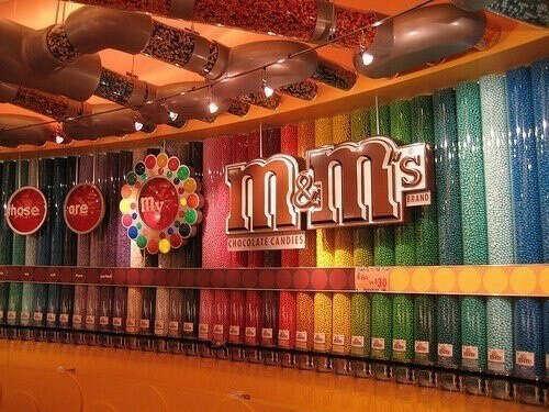 Собрать свой личный вид M&M's