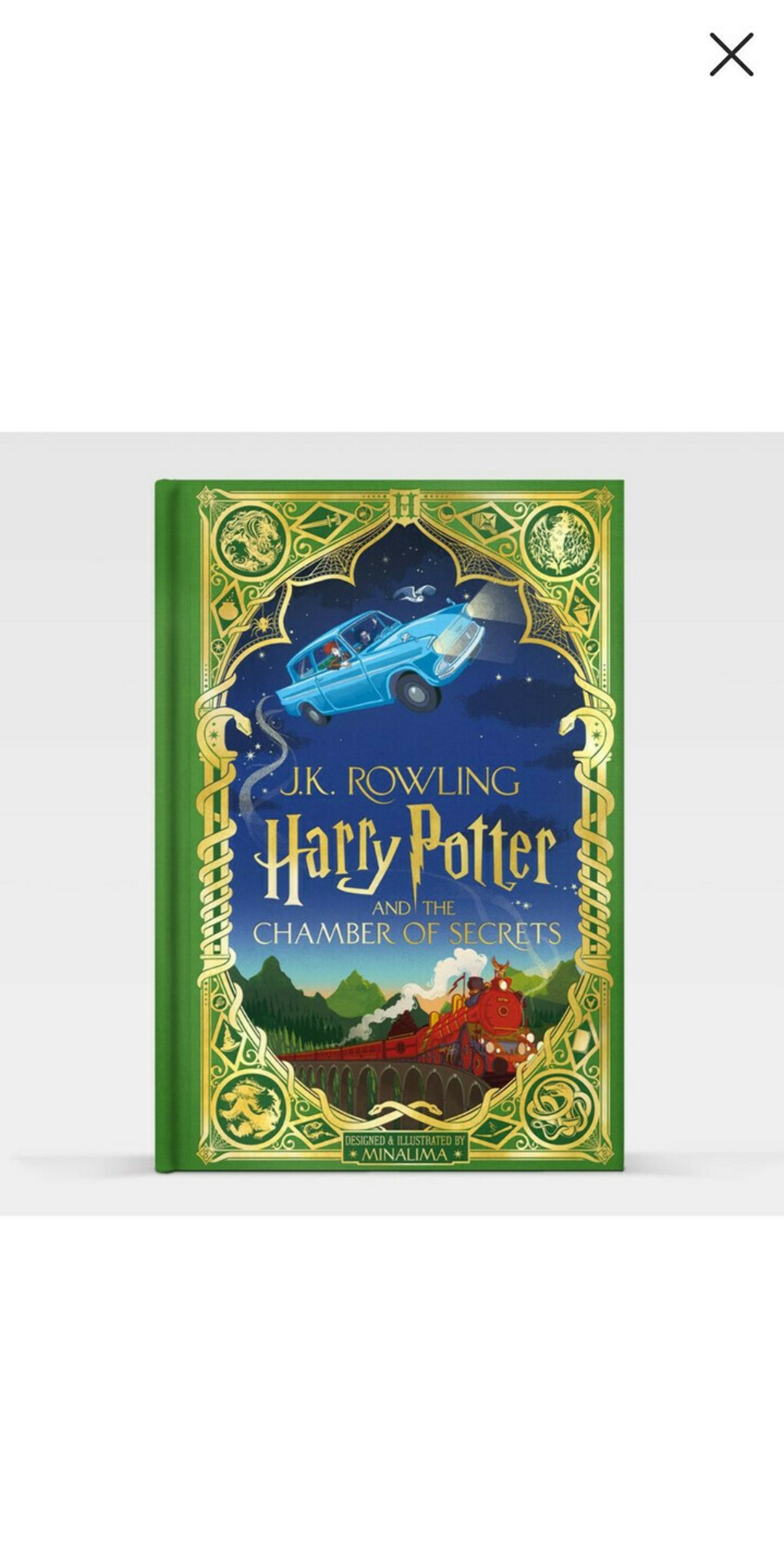 HARRY POTTER AND THE CHAMBER OF SECRETS (SIGNED COPY) - UK EDITION