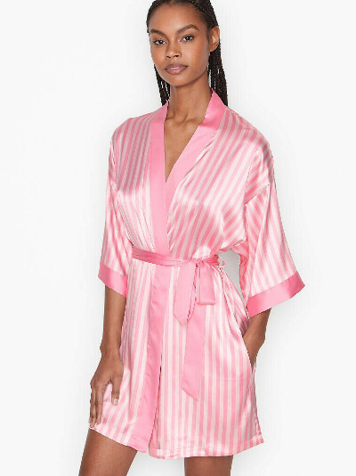 Satin Bell-sleeve Robe VICTORIA'S SECRET