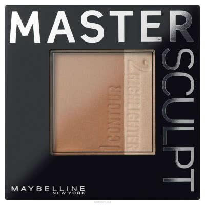 "Maybelline New York Скульптурирующая пудра ""MASTER SCULPT"", оттенок 01, светлый, 9 гр"