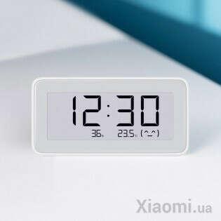 Часы Xiaomi Mi home (Mijia) Temperature And Humidity Electronic Watch LYWSD02MMC