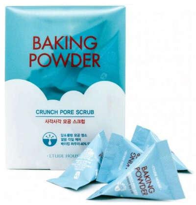 Скраб для лица ETUDE HOUSE с содой в пирамидках Baking Powder