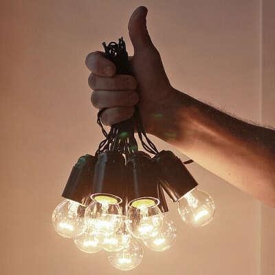 "Гирлянда из ламп накаливания ""Wireworks"", 3 м."
