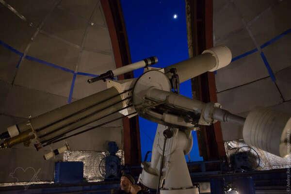 Посетить обсерваторию. Посмотреть в крутой телескоп