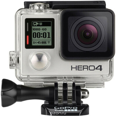 GoPro Hero4 Silver Edition Adventure экшн-камера (CHDHY-401)