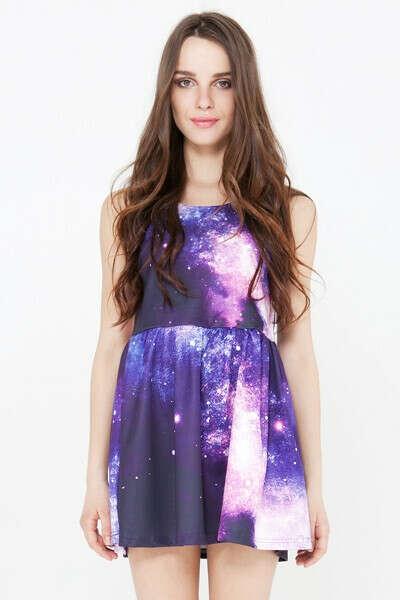 Хочу платье космос