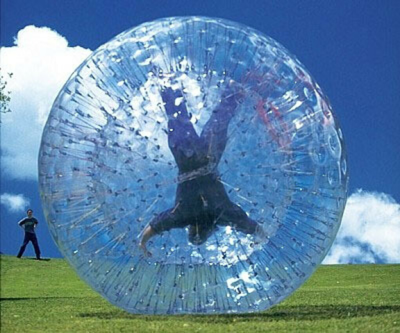 Покататься в Human Hamster Ball