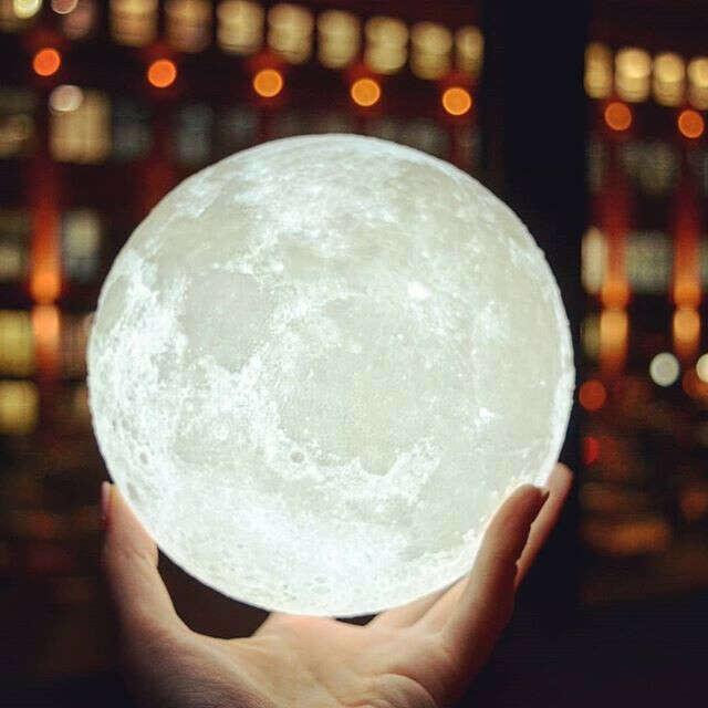 Ночник Луна 15 или 18 см в диаметре