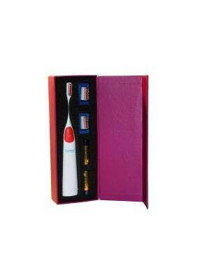 Donfeel HSD-005 красная ультразвуковая звуковая электрическая зубная щетка - на pearl-smile24