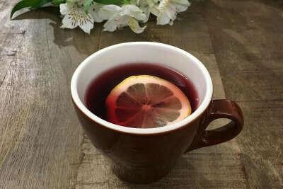 Много-много чая :)