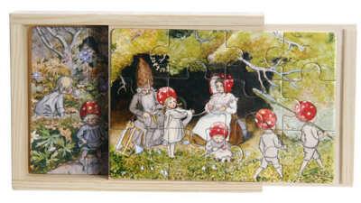 Пазл с иллюстрациями Elsa Beskow