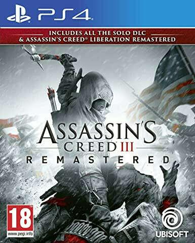 Assassins Creed III Remastered (Nintendo Switch)