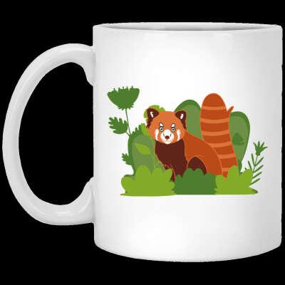 Help Red Panda by Buying Printed Mugs & T Shirts
