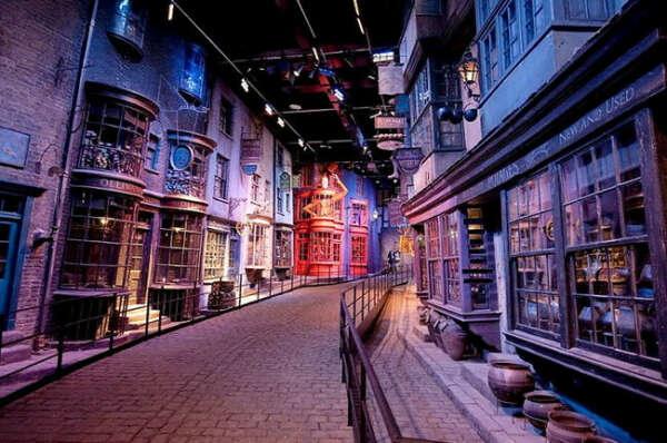 Музей Гарри Поттера в Лондоне на киностудии Warner Bros