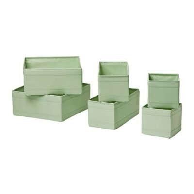 СКУББ Набор коробок, 6 шт. - IKEA