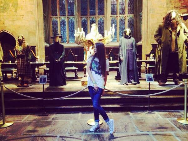 Посетить парк развлечений Гарри Поттера в Англии