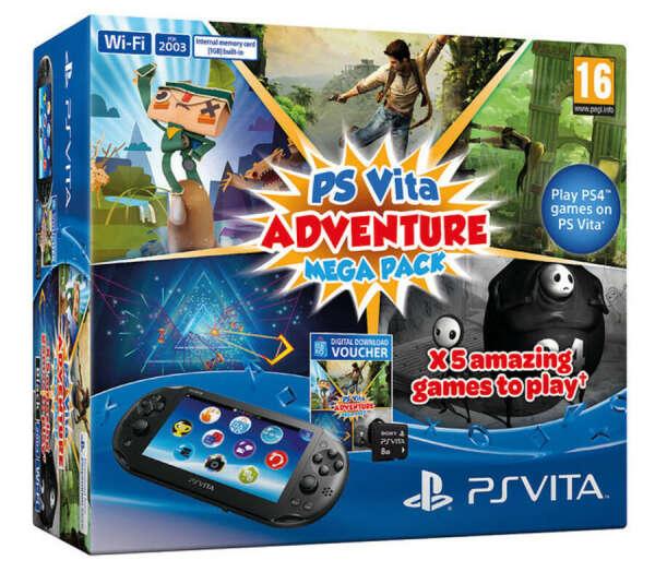 PS Vita Mega Pack Adventure